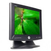 """Dell Monitor 17"""" TFT LCD Viewable 17"""" 4:3 1280 X 1024 0.264 Mm 500:1 25 Ms 75 Hz Black DVI-D And VGA (HD-15) With Stand 1702FP"""