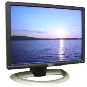 """Dell Monitor 17"""" TFT LCD Viewable 17"""" 16:10 1280 X 1024 0.264 Mm 75 Hz Black And Silver DVI-D And VGA (HD-15) With Stand 1703FPT"""