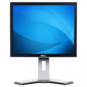 """Dell Monitor 17"""" TFT LCD Viewable 17"""" 5:4 1280 X 1024 60 Hz Black And Silver DVI-D And VGA (HD-15) With Stand 1707FPT"""