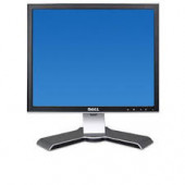 """Dell Monitor 17"""" TFT LCD Viewable 17"""" 5:4 1280 X 1024 0.264 Mm Black And Silver DVI-D And VGA (HD-15) With Stand 1708FPF"""