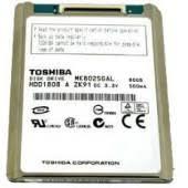 HP Hard Drive TOSHIBA 120GB ZIF HDD HARD DRIVE HS122JC 467847-001