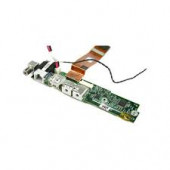 """Apple Cable PowerBook G4 15"""" A1106 DC-IN Power Jack USB Card Board W/ Cable 820-1685-A"""