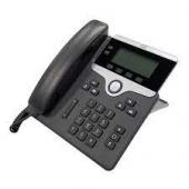 Cisco Phone UC 7821IP Black 2 Line Phone CP-7821-K9=
