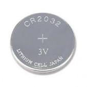 Panasonic Battery Lithium 3V Coin Battery 2 Wire CR2032