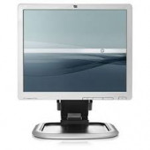 """Hewlett-Packard Monitor 17"""" TFT LCD Viewable 17"""" 5:4 0.264 Mm 1000:1 5 Ms Silver DVI-D And VGA (HD-15) With Stand EM889AA#ABA"""