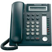 Panasonic Advanced IP Telephone 8 Button 1-Line LCD,2ND Lan Port Dual PBX Support KX-NT321-B