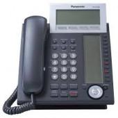 Panasonic Advanced IP Telephone 6-Line Backlit LCD Digital Duplex Bluetooth 4x12 Self Labeling KX-NT366-B
