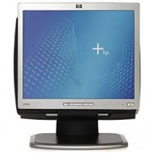 """Hewlett-Packard Monitor 17"""" TFT LCD Viewable 17"""" 5:4 1280 X 1024 0.264 Mm 75 Hz Black And Silver VGA (HD-15) With Stand L1706"""