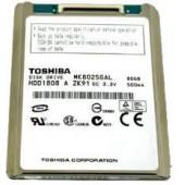 "Dell N951M MK8025GAL 1.8"" HDD PATA 80GB 4200 Toshiba Laptop Hard Drive La N951M"