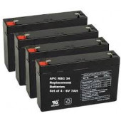 APC Replacement Battery Cartridge #34 - Maintenance-free Lead Acid Hot-swappable RBC34