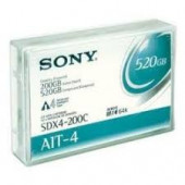 Sony AIT-4 Tape Cartridge - AIT-4 - 200 GB (Native) / 520 GB (Compressed) - 807.09 Ft Tape Length - 1 Pack SDX4200C