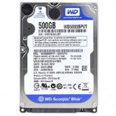 WD Hard Drive 5000BPVT Western Digital Scorpio Blue 500GB Mobile Hard Drive 5400RPM WD5000BPVT