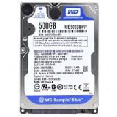 WD Hard Drive 5000BPVT Western Digital Scorpio Blue 500GB Mobile Hard Drive 5400RPM WD5000BPVT