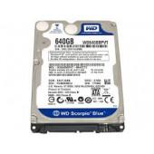 """TOSHIBA Hard Drive Western Digital 2.5"""" SATA 640 GB 5400 RPM Laptop Hard Drive WD6400BPVT"""