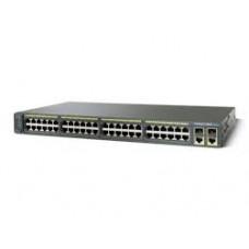 Cisco Catalyst 2960 Plus 48 10/100 PoE + 2 1000BT +2 SFP LAN Lite WS-C2960+48PST-S