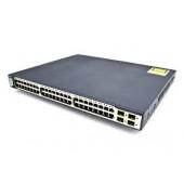 Cisco Catalyst 3750 48 Port 10/100 PoE + 4 SFP + IPS Image WS-C3750-48PS-E