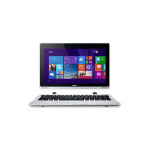 Acer Aspire Switch 11 SW5-111-18DY 11.6 inch Touchscreen Intel Atom Z3745 1.33GHz/ 2GB LPDDR3/ 64GB e-MMC/ Windows 8.1 Tablet w/ Keyboard (Silver) NT.L67AA.002 / SW5-111-18DY
