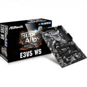 ASRock E3V5 WS LGA1151/ Intel C232/ DDR4/ Quad CrossFireX/ SATA3&USB3.0/ A&GbE/ ATX Motherboard E3V5 WS