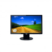 Asus VE208T 20 inch Widescreen 10,000,000:1 VGA/DVI LCD Monitor, w/ Speakers (Black) VE208T