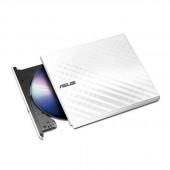 Asus SDRW-08D2S-U/WHT/G/AS 8X USB2.0 DVD+/-RW Slim External Writer (White), Retail SDRW-08D2S-U/WHT/G/AS