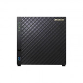 ASUSTOR AS3104T Intel Celeron 1.6GHz/ 2GB DDR3L/ 1GbE/ USB3.0/ 4-bay Desktop NAS AS3104T