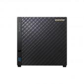 ASUSTOR AS3104T Intel Celeron 1.6GHz/ 2GB DDR3L/ 1GbE/ USB3.0/ 4-bay Desktop NAS AS3104T