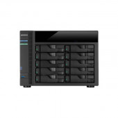 ASUSTOR AS5010T Intel Celeron 2.41GHz/ 1GB DDR3L/ 4GbE/ 2eSATA/ USB3.0/ 10-bay Desktop NAS AS5010T