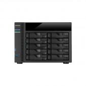 ASUSTOR AS5010T Intel Celeron 2.41GHz/ 1GB DDR3L/ 4GbE/ 2eSATA/ USB3.0/ 10-bay Desktop NAS AS5010T