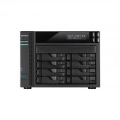 ASUSTOR AS5108T Intel Celeron 2.0GHz/ 2GB DDR3L/ 4GbE/ 2eSATA/ USB3.0/ 8-bay Desktop NAS AS5108T