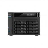 ASUSTOR AS5108T Intel Celeron 2.0GHz/ 2GB DDR3L/ 4GbE/ 2eSATA/ USB3.0/ 8-bay Desktop NAS AS5108T