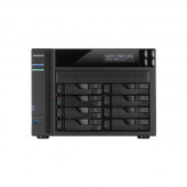 ASUSTOR AS6208T Intel Celeron 1.6GHz/ 4GB DDR3L/ 4GbE/ 2eSATA/ USB3.0/ 8-bay Desktop NAS AS6208T