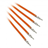 BitFenix Alchemy 2.0 5x 20cm Sleeved PSU Cable (Orange) BFX-ALC-20CMLO-RP