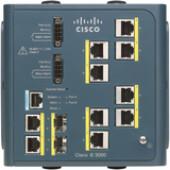 Cisco 3000-8TC Industrial Ethernet Switch - 4 x Expansion Slot, 2 x SFP (mini-GBIC) - 8 x 10/100Base-TX IE-3000-8TC