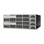 Cisco Catalyst 3750X-24T-S Layer 3 Switch - 24 Ports - Manageable - Stack Port - 1 x Expansion Slots - 10/100/1000Base-T - 24 x Network - 3 Layer Supported - 1U High - Rack-mountableLifetime Limited Warranty WS-C3750X-24T-S