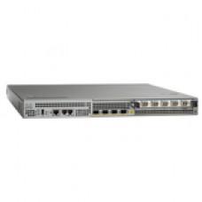 Cisco 1001 Aggregation Services Router - Management Port - 6 Slots - Gigabit Ethernet - Redundant Power Supply - 1U - Rack-mountable ASR1001