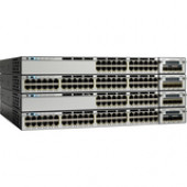 Cisco Catalyst 3750X-12S-S Layer 3 Switch - Manageable - Stack Port - 13 x Expansion Slots - 12 x Expansion Slot - Gigabit Ethernet - 12 x SFP Slots - 3 Layer Supported - Power Supply - Redundant Power Supply - 1U High - Rack-mountableLifetime Limited War