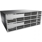 Cisco Catalyst 3850 48 Port Data IP Services - 48 Ports - Manageable - 1 x Expansion Slots - 10/100/1000Base-T - Twisted Pair - Gigabit Ethernet - 3 Layer Supported - Power Supply - Redundant Power Supply - 1U High - Rack-mountable - 90 Day WS-C3850-48T-E