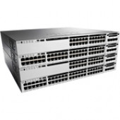 Cisco Catalyst Ethernet Switch - 24 Ports - Manageable - 10/100/1000Base-T - Twisted Pair - Gigabit Ethernet - 2 Layer Supported - Power Supply - Redundant Power Supply - 1U High - Rack-mountable - 90 Day WS-C3850-24P-E