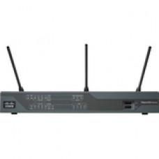 Cisco 897VA Gigabit Ethernet Security Router - 9 Ports - Management Port - PoE Ports - 1 Slots - Gigabit Ethernet - VDSL2 - Desktop C897VA-K9