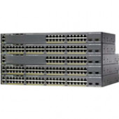 Cisco Catalyst 2960X-24PD-L Ethernet Switch - 24 Ports - Manageable - 2 x Expansion Slots - 10/100/1000Base-T - 24, 2 x Network, Expansion Slot - Twisted Pair - Gigabit Ethernet, 10 Gigabit Ethernet - 2 x SFP+ Slots - 2 Layer Supported - Power Supply - Re