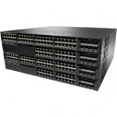 Cisco Catalyst 3650-48P Layer 3 Switch - 48 Ports - Manageable - Stack Port - 4 x Expansion Slots - 10/100/1000Base-T - Uplink Port - 4 x SFP Slots - 4 Layer Supported - Redundant Power Supply - 1U High - Rack-mountable, DesktopLifetime Limited Warranty W