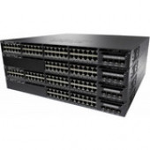 Cisco Catalyst 3650-24P Ethernet Switch - 24 Ports - Manageable - Stack Port - 2 x Expansion Slots - 10/100/1000Base-T - Uplink Port - 2 x SFP+ Slots - 2 Layer Supported - Redundant Power Supply - 1U High - Rack-mountable, DesktopLifetime Limited Warranty