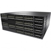 Cisco Catalyst 3650-48F Layer 3 Switch - 48 Ports - Manageable - Stack Port - 2 x Expansion Slots - 10/100/1000Base-T - Uplink Port - 2 x SFP+ Slots - 4 Layer Supported - Redundant Power Supply - 1U High - Rack-mountable, DesktopLifetime Limited Warranty