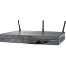 Cisco 881 Ethernet Security Router - 5 Ports - Management Port - SlotsFast Ethernet - Desktop C881-K9