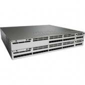Cisco Catalyst Layer 3 Switch - Manageable - Stack Port - 13 x Expansion Slots - 1000Base-X - Modular - 12 x SFP Slots - 3 Layer Supported - 1U High - Rack-mountableLifetime Limited Warranty WS-C3850-12S-E