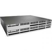 Cisco Catalyst Layer 3 Switch - Manageable - Stack Port - 25 x Expansion Slots - 1000Base-X - 24 x SFP Slots - 3 Layer Supported - 1U High - Rack-mountableLifetime Limited Warranty WS-C3850-24S-S