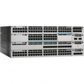Cisco Catalyst WS-C3850-12XS Ethernet Switch - Manageable - Stack Port - 12 x Expansion Slots - 10GBase-X - Uplink Port - 12 x Expansion Slot - Optical Fiber - 10 Gigabit Ethernet - 12 x SFP+ Slots - 3 Layer Supported - Power Supply - Redundant Power Supp