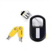 Kensington K64538US MicroSaver Portable Keyed Retractable Laptop Lock K64538US