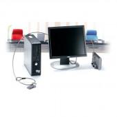 Kensington K64665US Desktop and Peripherals Locking Kit (Mid Brown) K64665US