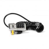 Kensington K64698US ClickSafe Portable Combination Laptop Lock (Black) K64698US